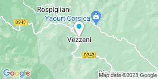 Plan Carte Audibert Dorine à Vezzani