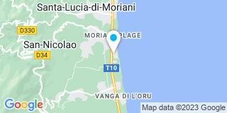 Plan Carte Bohr José à San-Nicolao