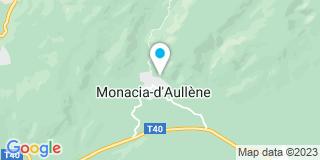 Plan Carte Canetti Fabien à Monacia-d'Aullène