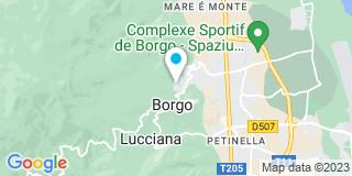 Plan Carte Capanni Yves à Borgo
