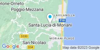 Plan Carte Cattani Christian à Santa-Lucia-di-Moriani
