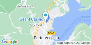 Plan Carte Cerem à Porto-Vecchio
