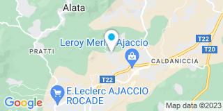 Plan Carte Colonna Jean-Jacques à Ajaccio
