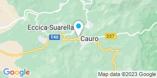 Plan Carte Da Silva Electricité à Cauro