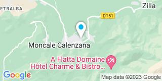Plan Carte D'angelo Jean-Pierre à Calenzana