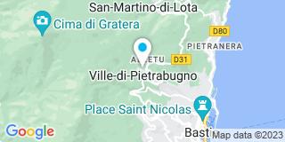 Plan Carte Denis Jean Michel à Ville-Di-Pietrabugno