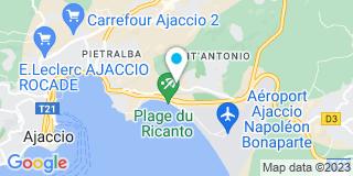 Plan Carte Di Pilla Philippe à Ajaccio