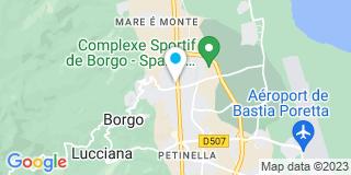 Plan Carte DIE à Borgo