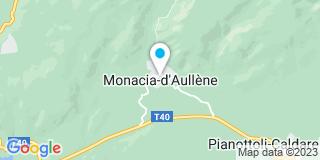 Plan Carte Egp Scamaroni à Monacia-d'Aullène