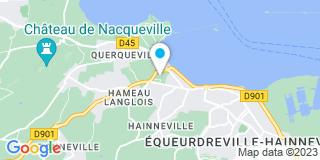 Plan Carte Menuiserie du Cotentin à Equeurdreville Hainneville