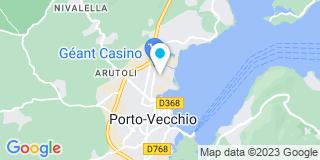 Plan Carte Fancellu Pascal à Porto-Vecchio