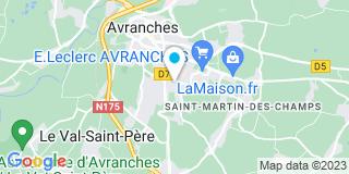 Plan Carte Ach menuiserie à Saint-Martin-des-Champs