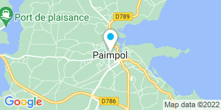 Plan Carte Herry Construction à Paimpol