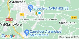Plan Carte Anfray à Saint-Martin-des-Champs