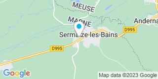 Plan Carte Somebat à Sermaize-les-Bains