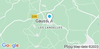 Plan Carte Rouxel Xavier à Gausson