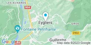 Plan Carte S.A.M.A (Société Alpine de Menuiserie et Agencement) à Eygliers