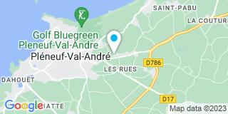 Plan Carte Constructions Le Gall à Pleneuf-Val-André