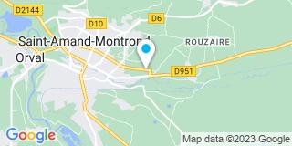 Plan Carte Jardiland à Saint-Amand-Montrond
