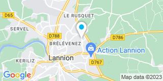 Plan Carte Remond à Lannion