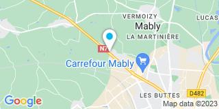 Plan Carte Jardiland à Mably