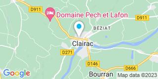 Plan Carte Gamm vert à Clairac