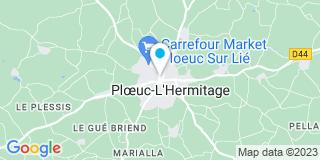 Plan Carte Menuiserie Goubin à Ploeuc-Sur-Lié