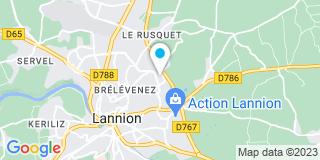 Plan Carte Rivoual Yves à Lannion