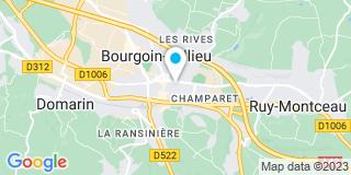 Plan Carte Paccalin à Bourgoin-Jallieu