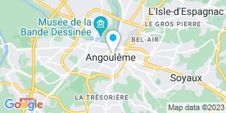 Plan Carte L'Océane à Angoulême