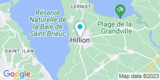 Plan Carte Société des Plaquistes de l'Ouest à Hillion