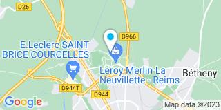Plan Carte Eurostores à La Neuvillette