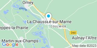 Plan Carte Menuiserie Générale du Bâtiment à La Chaussée-sur-Marne