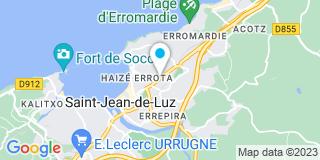 Plan Carte Interalu à Saint-Jean-de-Luz