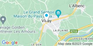 Plan Carte Iso Conseil Habitation  à Vinay