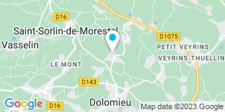 Plan Carte Rojon Jean-Claude à Dolomieu