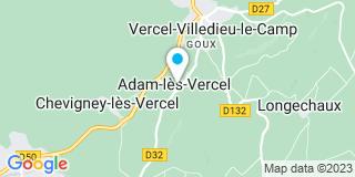 Plan Carte Les jardins d'Adam à Adam-lès-Vercel