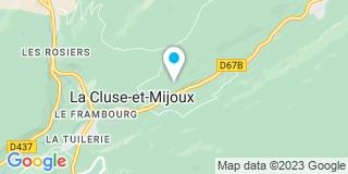 Plan Carte Robbe Noel à La Cluse et Mijoux