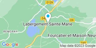 Plan Carte Jura Natura Services à Labergement- Sainte-Marie