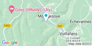Plan Carte El Abbadi à Montgesoye