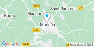 Plan Carte Rad Leaderbat à Morlaàs