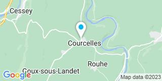 Plan Carte Entreprise Pierre Frederic à Courcelles