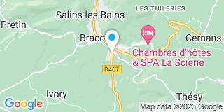 Plan Carte Gerbet Stéphane à Salins-les-Bains