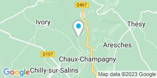 Plan Carte Bully Yves à Chaux Champagny