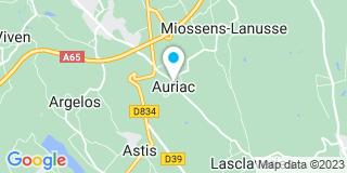 Plan Carte Nipou à Auriac