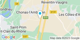 Plan Carte Idéales Ouvertures à Chonas-l'Amballan