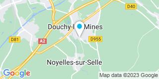 Plan Carte Moreau Eurovert à Douchy-les-Mines