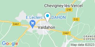 Plan Carte Bolard Vincent à Valdahon