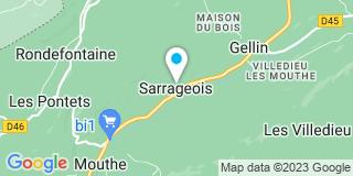 Plan Carte Bretillot Pascal à Sarrageois