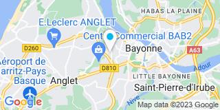 Plan Carte Alchuteguy à Bayonne